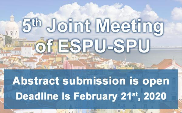 ESPU 2020 congress abstract submission